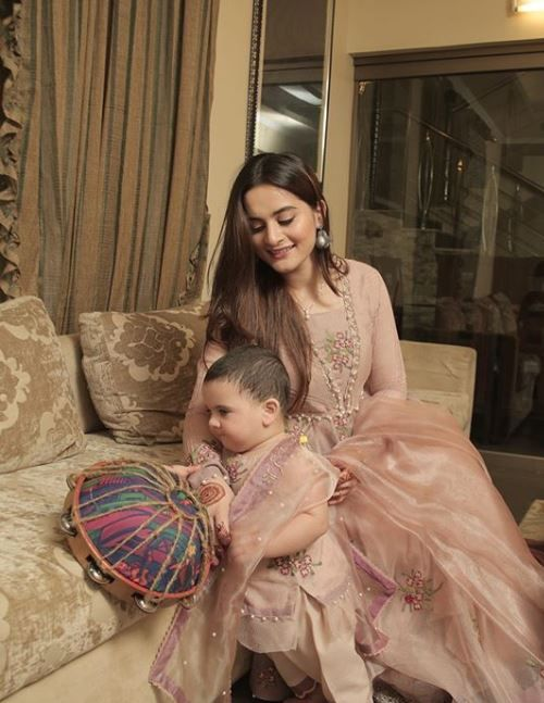 Aiman Khan Posts A Funny Fact About Daughter Amal Muneeb