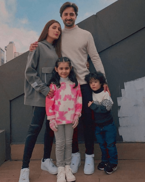 Ayeza Khan and Family's Latest Photoshoot Is All About Winter Vibes!