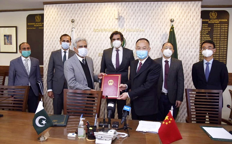 """N-5 - Pakistan and China on Thursday signed a Letter of Exchange (LoE) for """"Rehabilitation of Specific Sections of National Highway N-5 Project"""" was also signed. Under the agreement, the Chinese government will provide grant assistance of RMB 659.8 million (US$ 100 million) for the rehabilitation of four sections (66 kilometers in total) of the National Highway (N-5) between Hala (District Matiari) and Moro (District Naushahro Feroze) in Sindh province. The project will help to improve road infrastructure and augment the North-South connectivity. The Ambassador of the People's Republic of China to Pakistan Nong Rong and the Secretary Economic Affairs Noor Ahmad signed the agreements on behalf of respective governments. Talking to the Federal Minister for Economic Affairs Makhdoom Khusro Bakhtiar in Islamabad on Thursday, the Chinese Ambassador Nong Rong said that the National Highway 5 (N-5) is an important road that extends from the south part to the north and west border in Pakistan, and carries a large amount of traffic capacity. Unfortunately, this road was seriously damaged by the record flood in 2010. At the request of the Pakistani government, the Chinese government helped repairing parts of N-5 and N5-5 sections during 2011 and 2016. With the joint efforts by the Pakistani and Chinese workers, the rehabilitation work was completed at the end of 2016, and greatly improved the road conditions of the relevant sections. Considering the importance of the N-5 road, the Chinese government agrees to rehabilitate the remaining 66 kilometers of the N-5 road with the Chinese grant in accordance with the previous bilateral agreement. The Chinese ambassador added that the new Project of Rehabilitation of N-5 Road is the largest road project funded by the Chinese grant in recent years in Pakistan. The implementation of this project will further increase the traffic capacity while facilitating people's travel along the route. Construction of the project will also create co"""