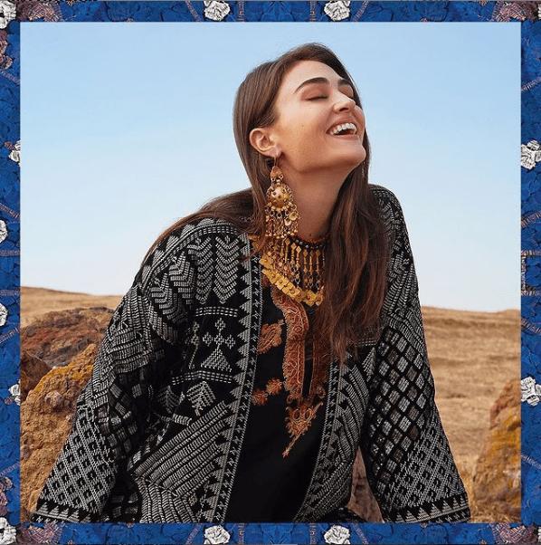 Esra Bilgic X Khaadi - The Most Awaited Vibrant Photoshoot Is Out Now!