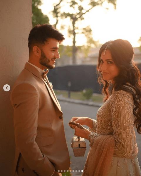 Shahveer Jafry and Ayesha Baig's Mesmerizing Engagement Photoshoot!