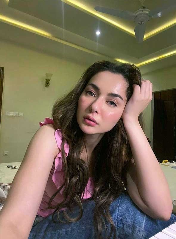 Hania Amir Shares A Funny Prank On Her Insta Stories!