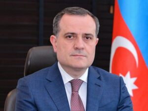 """Jeyhun Bayramov - The Foreign Minister of Azerbaijan Jeyhun Bayramov will arrive in Islamabad for a two-day visit from January 13 to 14, 2021, the first bilateral visit to Pakistan from the former Soviet Republic at the Foreign Minister level since 2010. During his visit, Jeyhun Bayramov will meet President Dr. Arif Alvi and Prime Minister Imran Khan. The Azeri foreign minister will also hold delegation-level talks with his Pakistani Counterpart Shah Mahmood Qureshi and review the entire spectrum of bilateral relations. In a statement on Tuesday, the Foreign Office said that at the start of the New Year, the visit will provide an opportunity to explore ways and means to deepen Pakistan-Azerbaijan bilateral cooperation in diverse fields. The Foreign Office said that apart from reaffirming the excellent political relations, the two foreign ministers will discuss possibilities for enhanced collaboration in the fields of oil and gas, agriculture, railways, and education. """"Azerbaijan is a key Country of the South Caucasus region and Pakistan's long-standing friend and partner,"""" the Foreign Office said. """"The two Countries are bound by an exemplary relationship anchored on common historic, religious and cultural links."""" It said that both Countries have been closely collaborating on issues of mutual interest at regional and international fora. """"Azerbaijan in its capacity as the member of OIC Contact Group on Jammu and Kashmir has been steadfastly supporting the just and legitimate cause of the Kashmiri people,"""" the Foreign Office further said."""