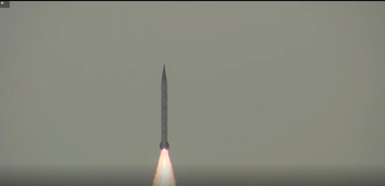 Pakistan conducted a successful flight test of Shaheen-III having a range of 2, 750 kilometers
