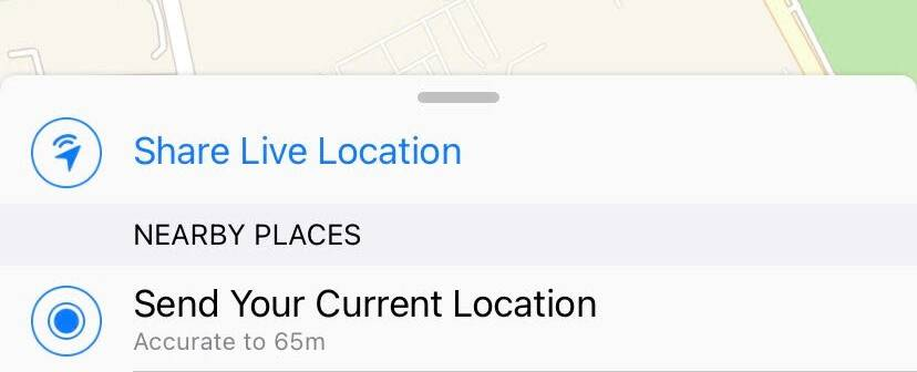 WhatsApp Live Location Feature