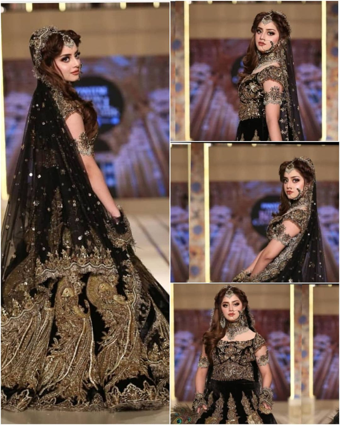 Alizeh Shah Steals The Show at Bridal Couture Week 2021 - Pictures!