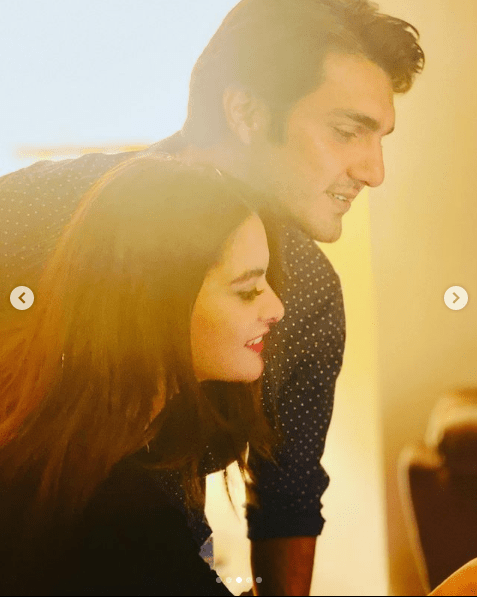 Minal Khan and Ahsan Mohsin Ikran Announce Their Engagement!