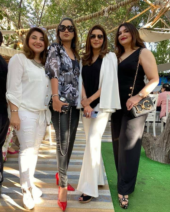 Nida Yasir Star-studded Birthday Bash Takes Social Media By Storm!