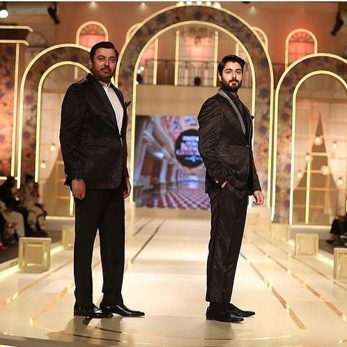 The legendary actor Noman Ijaz has hinted on his son to make way to the industry very soon and fans are excited to know that. This news came up as a result of a post on Instagram in which Noman took his eldest son Zaviyar for his debut ramp walk in Pantene HUM Bridal Couture Week. The father-son duo just instantly grabbed everyone's attention and made headlines with Zaviyar joining his father on the ramp for the first time. Here we have got further details!  Noman Ijaz Indicates for His Son To Step Into Industry Soon!   The video of Noman Ijaz and his son Zaviyar's ramp walked has made the headlines.  Everyone is looking forward to Noman's son making way to the screen following his father's path. Watch this video!  As soon as the video of this ramp walk made way to Instagram, a fan commented and asked if people should be ready for nepotism. Noman responded in 'Yes' while considering fan's guess right.  Noman's Family  Noman Ijaz has three sons and a beautiful wife. Zaviyar is the eldest son who has joined him on the ramp walk.  Moreover, we can expect to see him soon hitting the screens with as much brilliant acting like that of his father's.  Noman himself considers Zaviyar his replica and this picture is an evidence to that. He is rightly following his father in all aspects.  Noman has always remained phenomenal in his performance and there is not a single project that proved to be a disappointment in terms of his acting skills.  The way he owns a role and puts the essence of perfection as per the script with fantastic dialogue delivery is something hard to find in any other actor in the industry.  Now we are excited to see Zaviyar performing for different projects while making his father feel proud of him.  Want to add something to the story? Don't forget to share your valuable feedback with us!
