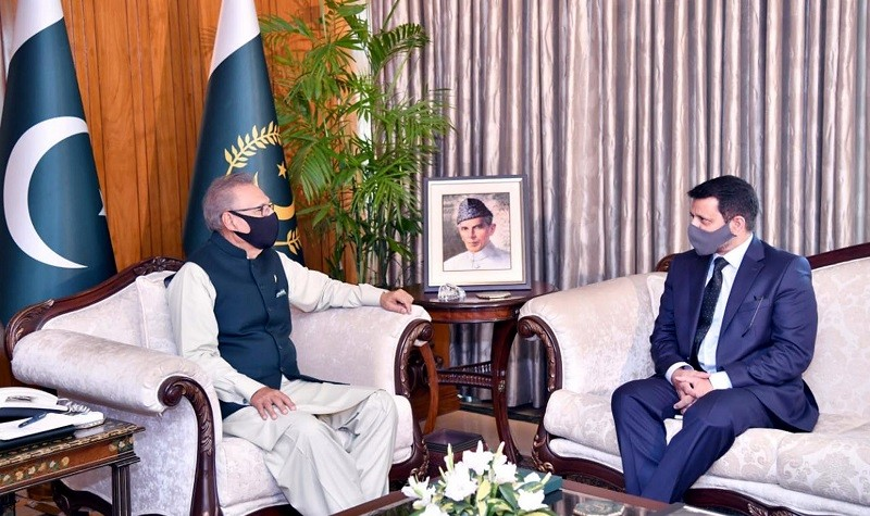 Uzbekistan - President Dr. Arif Alvi has underscored the need for further strengthening the existing bilateral relations with Uzbekistan in all areas of mutual interests including political, trade, economic and cultural fields. While talking to Pakistan's Ambassador to Uzbekistan Syed Ali Asad Gillani at Aiwan-e-Sadr in Islamabad on Tuesday, the president said that it is essential to build political, economic, and cultural relations with Uzbekistan and interacts closely on issues of bilateral importance, regional developments, and international cooperation, especially through the exchange of high-level visits, parliamentary exchanges and ministerial interactions. The president asked the ambassador to work for the promotion of trade and economic relations between Pakistan and Uzbekistan. Dr. Arif Alvi emphasized the need to diversify Pakistan's exports to Uzbekistan by including manufactured goods, finished products, pharmaceuticals, and services, etc. President Arif Alvi also asked the ambassador to work for the promotion of tourism in Pakistan as well as strengthening cultural linkages between the two sides. The president highlighted that parliamentary cooperation was highly essential to further deepen bilateral relations and stressed the need for promoting parliamentary exchanges between the two countries.