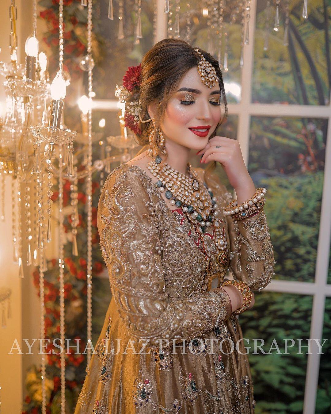 Ramsha Khan Leaves Fans Stunned in Her Latest Bridal Photoshoot!