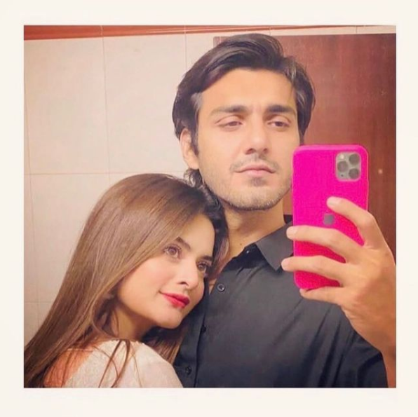 """Minal Khan and Ahsan Mohsin Ikram are celebrating one year of togetherness. Ahsan took a video to Instagram in which we can see Minal and Ahsan swimming together underwater while waving hands to the cam. As soon as this video made its way to Instagram, it turned on the fury of the netizens who couldn't resist speaking up in the comments section. Here we have got further details!  Minal Khan and Ahsan Ikram's Swimming Video Catches Fire of Criticism!   Check out the video and the way people reacted to the post. It is to mention here that Minal Khan was already facing extreme criticism for wearing the western dress on a show. The matter wasn't resolved yet and now netizens have got something to open fire on.  Minal Khan and Ahsan Ikram's Swimming Video!   So, here we have got the video that Ahsan took to Instagram while wishing Minal for one year of togetherness. Watch it now!  As you can see, the lovebirds are having a good swim time together underwater while they wave a hand to the camera. Ahsan posted this video on his Insta account and captioned it as:  """"1 YEAR DOWN, 100 MORE TO GO 😘""""   Right after the video made the way to Insta, netizens turned furious and gathered in the comments section to bash the duo.  Minal Khan and Ahsan announced their engagement on 15th February via Instagram. They will soon be tying the knot, however, nothing has been stated officially in this regard yet.  Here is How People Reacted to the Swimming Video!   Wondering about how the fans reacted to the swimming video of Minal and Ahsan, here we have got pictures.  Some of the people considered it a lovely gesture while the rest of them opened fire of criticism calling it something to be ashamed of. Check out these comments!      So, what do you think about this video and public reaction? Don't forget to share your valuable feedback with us!"""