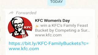 KFC Scam Alert
