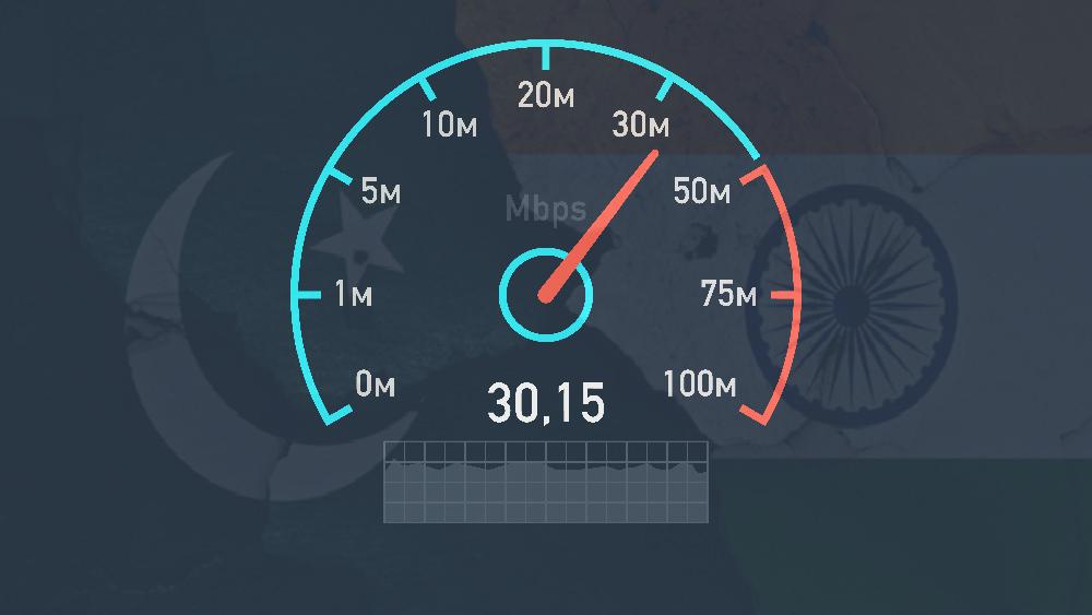 PTCL Internet Speed test