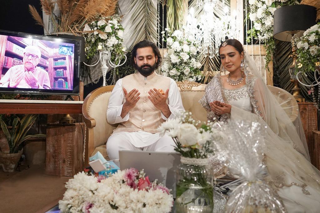Mansha Pasha and Jibran Nasir Tie The Knot - Check Out Latest Pictures!