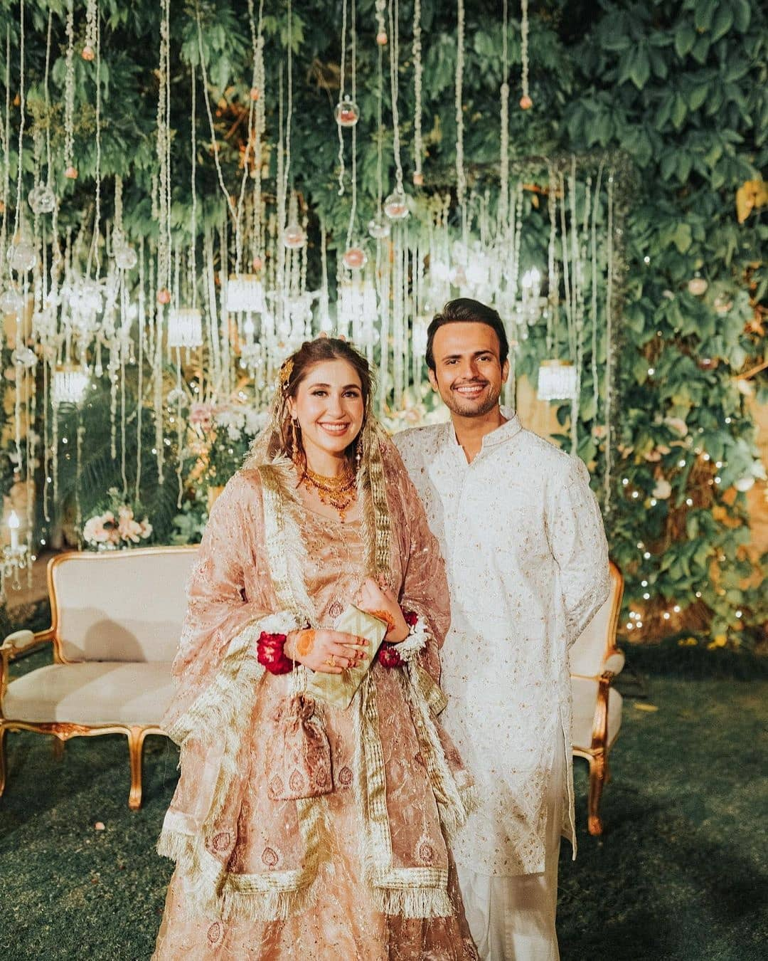"""Hold on to your heart as we have got big news from all-time favourite and talented actor Usman Mukhtar as he takes social media by storm. The Anaa actor has finally left his fans in surprise by tying the knot. As soon as the pictures went viral on social media, fans went crazy to find out who is the lucky one to whom Usman has hooked for life. So, here we have got the details and pictures!  Usman Mukhtar Leaves His Fans Surprised By Tying The Knot!  Heartthrob actor Usman Mukhtar has finally tied the knot while leaving many female fans heartbroken and the rest surprised in happiness. He is well-known for his role as Altamash in the drama serial Anaa in which he starred opposite Naimal Khawar. Let's check out these adorable clicks from the wedding event!         While posting the pictures on social media, Usman penned a heartwarming note:  """"ZUNAIRA INAM KHAN. THANK YOU FOR MAKING ME THE LUCKIEST MAN ON EARTH. I HAVEN'T FELT SUCH HAPPINESS IN A VERY LONG TIME. YOU'VE STOOD BY ME IN THE MOMENTS I WAS DOWN AND AMPLIFIED THE HAPPY MOMENTS. BEEN MY ROCK AND MY SUPPORT. I AM BLESSED.  DEAR WORLD - I MARRIED THIS AMAZING WOMAN TODAY IN A SMALL SOCIALLY DISTANT GATHERING. OUR BIG DAY WAS SUPPOSED TO BE ON 2ND APRIL BUT DUE TO THE LOCKDOWN RESTRICTIONS FROM 1ST APRIL WE HAD TO PULL IT BACK. WE WERE TESTED AND FOLLOWED SOPS. WE BOTH NEED YOUR DUAS AND BLESSINGS.#NIKKAH""""  Those who attended the function were tested and the SOPs were strictly followed throughout it.  An Introduction To Zunaira Inam Khan!   According to the latest updates, Usman Mukhtar's better half Zunaira Inam Khan is a super high achiever. She is a double Masters in International Law & International Relations from the University of Western Sydney. Moreover, Zunaira is an Associate Research Analyst at the Institute of Regional Studies.  We wish the beautiful couple a wonderful life ahead. Want to add something to this write-up? Don't forget to share your valuable feedback with us!"""