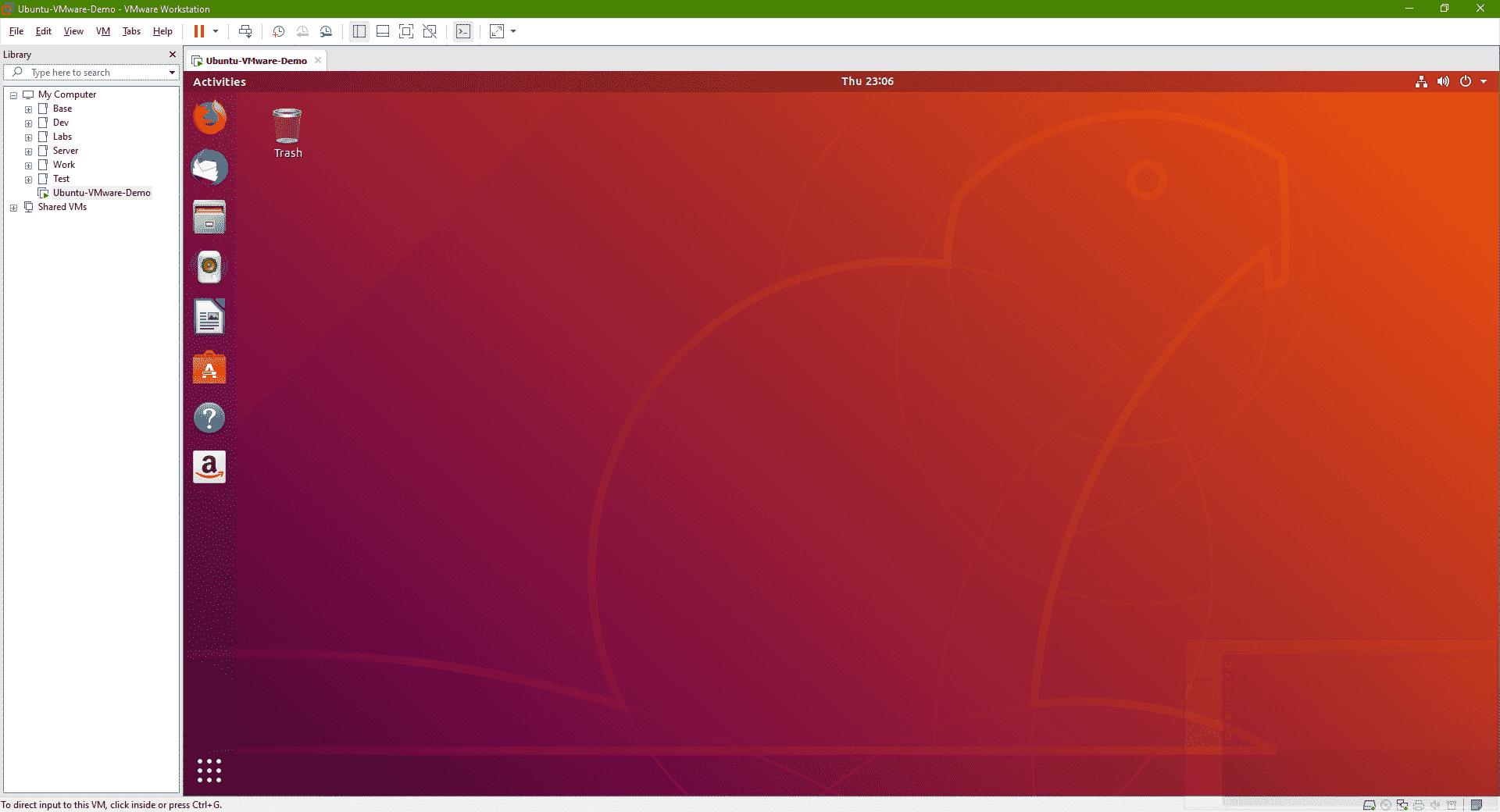 Install Linux on Windows using VM