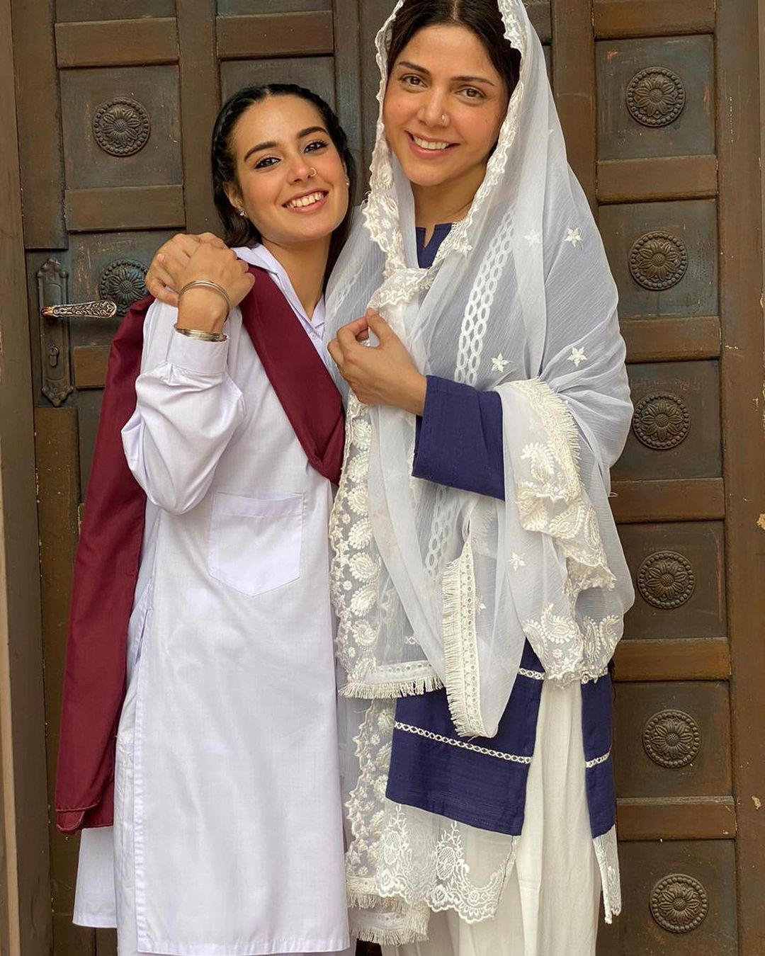 """We know that you must be watching the drama serial 'Raqeeb Se' on HUM TV. We are so sure about that because the story and plot of this drama are so unique that hooks the viewers in a moment of time. From the traditional sketch of a love story to the little chunks of climax throughout the play, the script and direction make it an absolute masterpiece. The best thing about Raqeeb Se is that Hadiqa Kiani, who is famously known for her soulful voice, has made her acting debut with this project.  She keeps on sharing some of the best moments from the shooting of the drama. It seems Hadiqa wanted to do something that makes way direct to viewers hearts. Undoubtedly, she has achieved this goal and that's the reason people don't take a pause in admiring her work. This time, Hadiqa Kiani has shared her memory from the village shoot. Here we have got pictures and further details!  Hadiqa Kiani Shares Most Memorable Moments From 'Raqeeb Se' Shoot!   Although Hadiqa keeps on sharing different pictures from the shoot time of 'Raqeeb Se', however, this time it grabbed our attention as she recalled her time spent in the village. Hadiqa took a heartwarming click to Instagram in which the kids from the village are hugging her while being all in smiles. Check out this click!  The comfort zone these kids had seemingly achieved as per the picture depicts how much kind-hearted and loving Hadiqa is towards children. While posting this picture on Instagram, Hadiqa penned:  """"WHEN ASKED WHAT MY FAVORITE PART OF FILMING#RAQEEBSE WAS, I SO OFTEN GET LOST WITHIN THE BEAUTIFUL SCRIPT, MY CAST AND CREW BUT TRULY, MY MOST FAVORITE MEMORIES WERE FILMING IN THE VILLAGE AND PLAYING WITH THE LOCAL GIRLS. THESE INSPIRING BUNDLES OF JOY WERE A SOURCE OF LIFE FOR ME 💗💗💗""""  The Raqeeb Se actress also posted a video to refresh the memory with an idea to make her fans part of the moment.  Watch the video!  We are loving every bit of this drama serial and hope to see Hadiqa Kiani in more projects in future."""