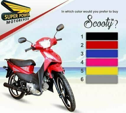 Super Power 70cc scooty review