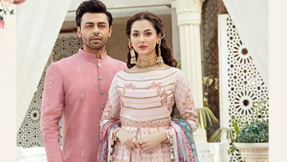 Farhan Saeed and Hania Aamir