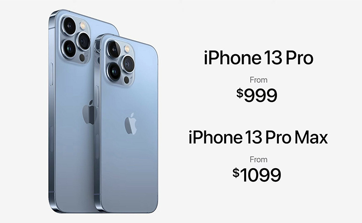 Iphone 13 pro max launched