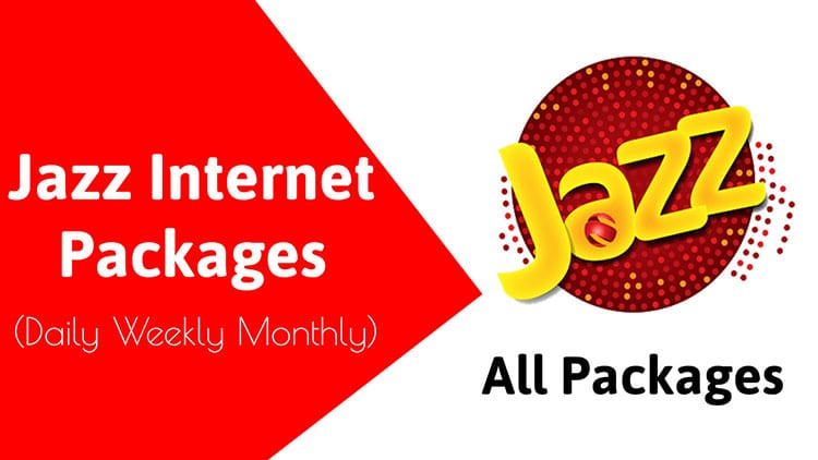 Jazz internet packages 2022