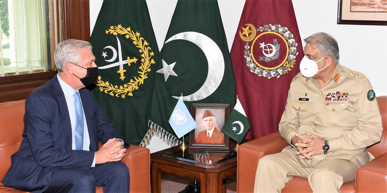 High Commissioner of UNHCR Filippo Grandi, called on COAS General Qamar Javed Bajwa