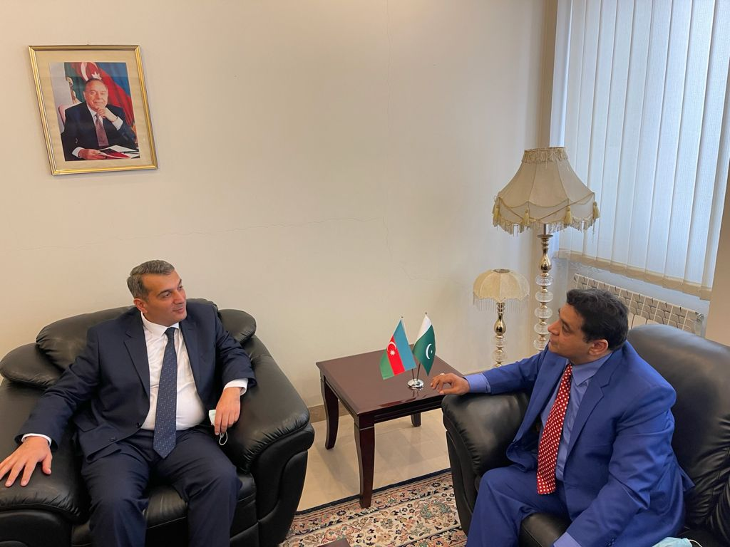 The Ambassador expressed appreciativeness to DND News Agency for its interest for the promotion of Pakistan-Azerbaijan bilateral relations.
