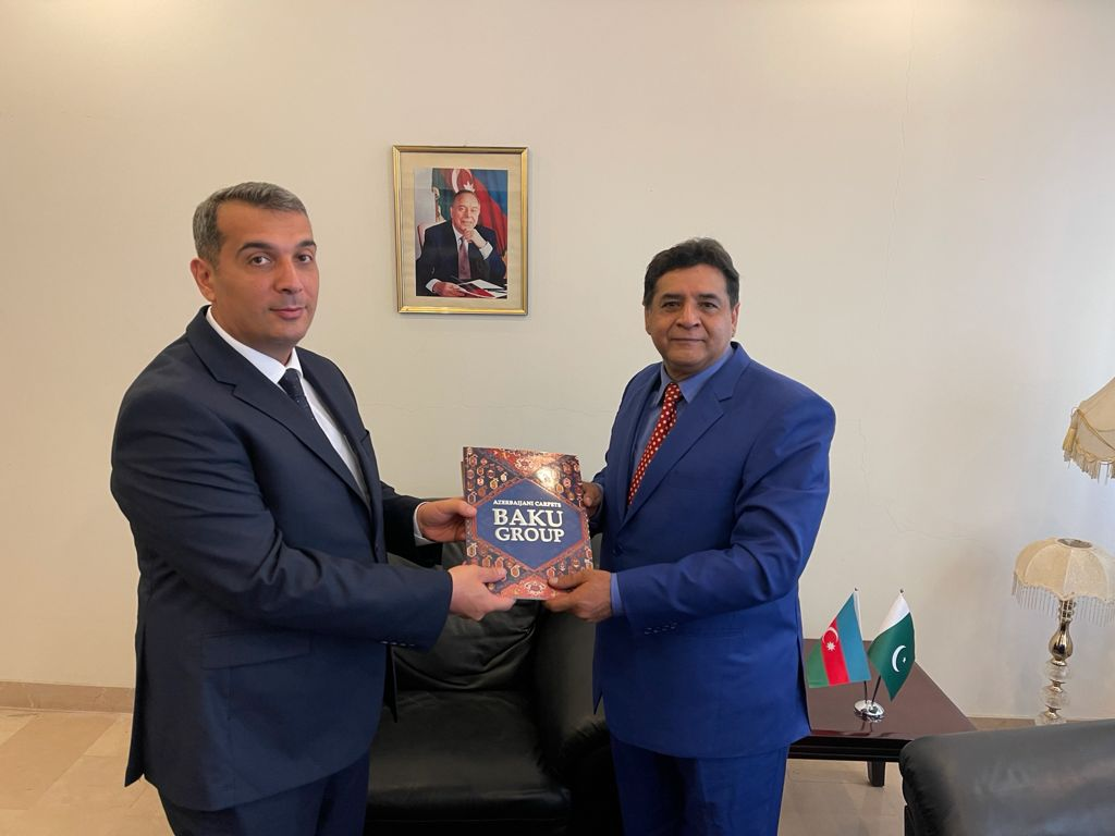 During his meeting with the Chief Editor Dispatch News Desk (DND) News Agency Agha Iqrar Haroon here in Islamabad on Tuesday, Ambassador Khazar Farhadov said that the Trilateral Format relations of Azerbaijan, Pakistan and Turkey would help to enhance Cultural diplomacy, Tourism development and Trade Relations among all of three and would provide a base for excellent people to people contact