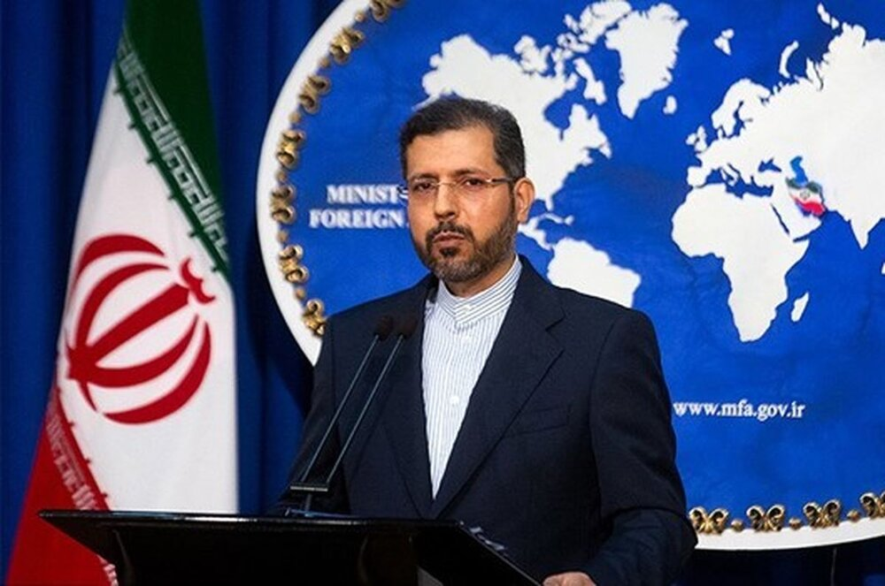 Iranian spokesman Khatibzadeh claimed that evening's aerial attacks on the Panjshir valley in northern Afghanistan were carried out by Pakistan in support of the Taliban.