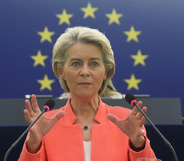 The President of the 27-nation bloc of Europe popularly known by European Union Ursula von der Leyen has expressed the resolve to boost humanitarian aid to Afghanistan.