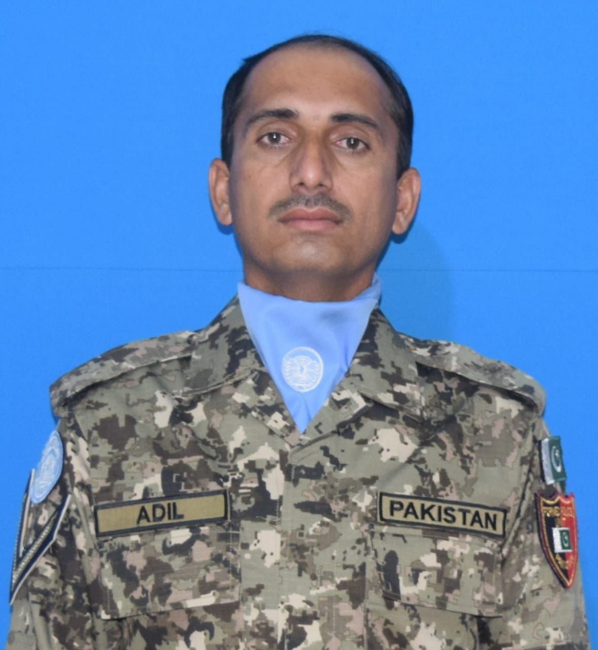 Lance Naik Adil Jan serving in UN mission Darfur embraced shahadat while on duty. Lance Naik Adil Jan, FC Balochistan, age 38 years resident of Lakki Marwat was part of UN mission Darfur responsible for protection of civilians and facilitating humanitarian assistance. So far 161 Pakistani peace keepers have laid lives as part of global peace missions for international peace and stability.