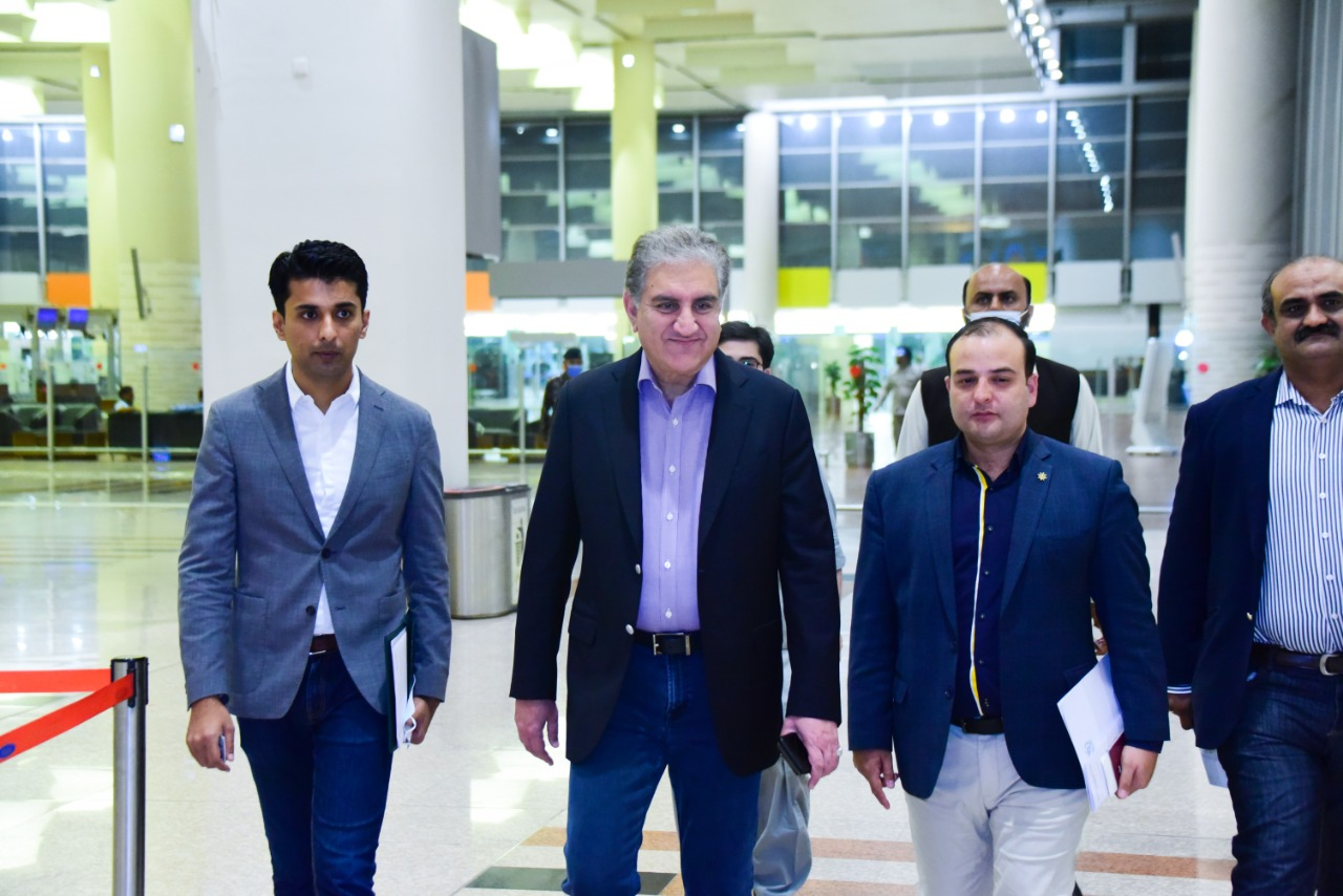Foreign Minister Qureshi  departs for 76th Session of UNGA